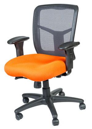 Capri Medium Back Synchro-Tilt Task Chair Private Spaces Orange