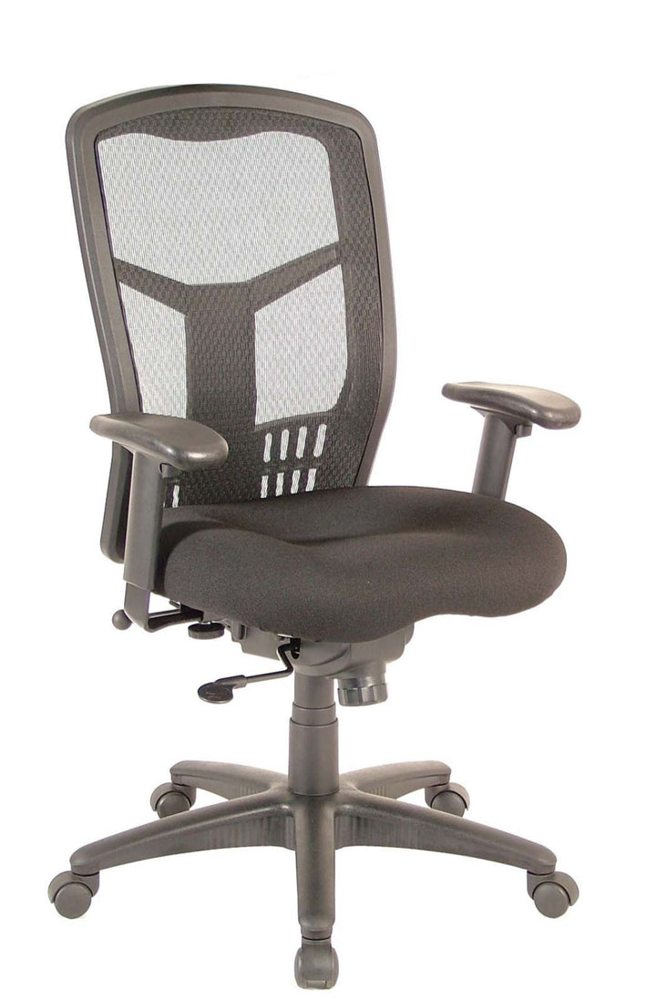 Capri Synchro Tilt High Back Conference / Task Chair Private Spaces Black