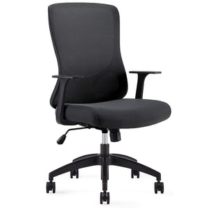 Franca Mid Back Conference / Meeting Room Chair Private Spaces Black