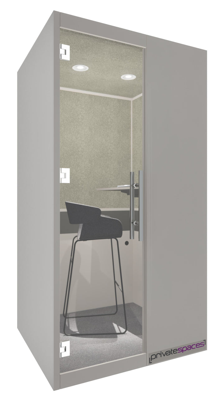 MotionPod 1 / One Person Privacy Booth / Sarum Taupe Private Spaces