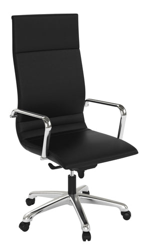 Venice High Back Executive / Conference Chair Private Spaces Black