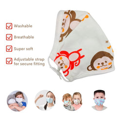 buy online reusable face mask with filter pocket