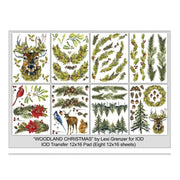 Iron Orchid Designs Decor Image Transfer - Woodland Christmas