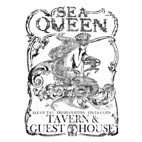 Iron Orchid Designs Decor Image Transfer - Sea Queen Large