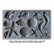 Iron Orchid Designs Decor Mould - Sea Shells