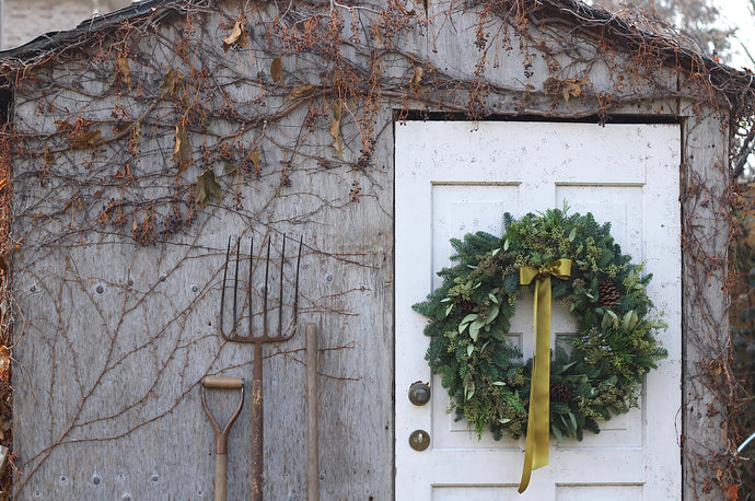 Evergreen Wreath How-To
