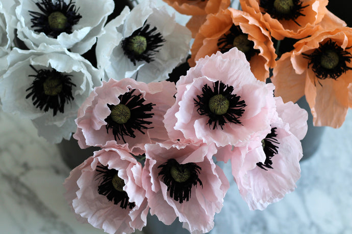 Crafting Paper Poppies