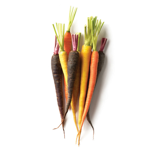 Rainbow Carrots (Local), Bunch