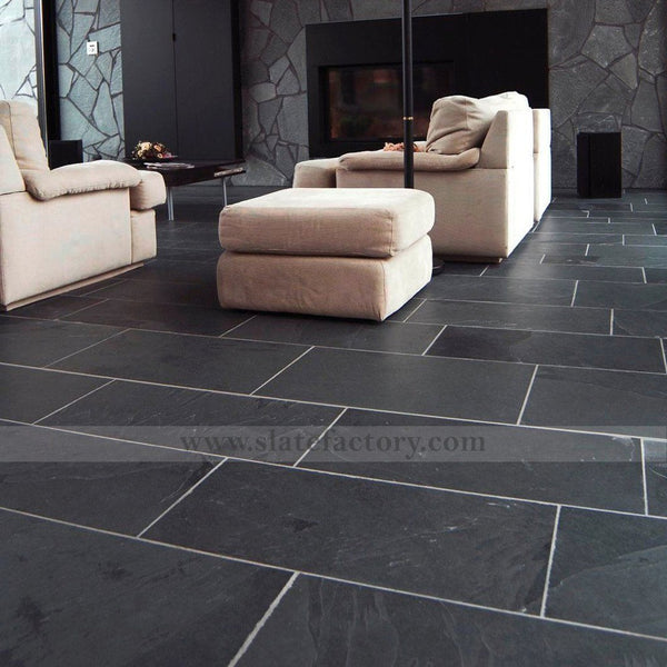 black-slate-floor-tile-livingroom