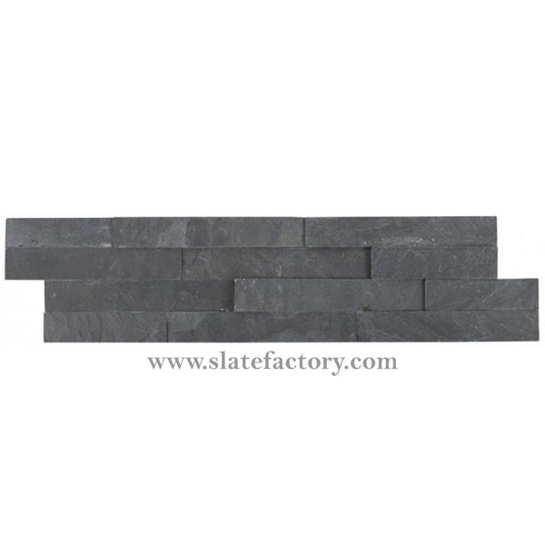 Charcoal Ledger Stone Panels Split Face 6x24