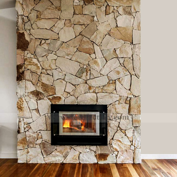 fieldstone-veneer-for-fireplace-desert-gold