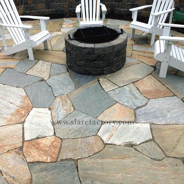 golden-white-quartzite-flagstone-patio