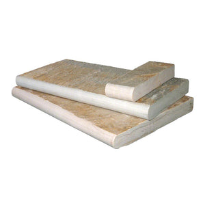 Golden White Quartzite Pool Coping