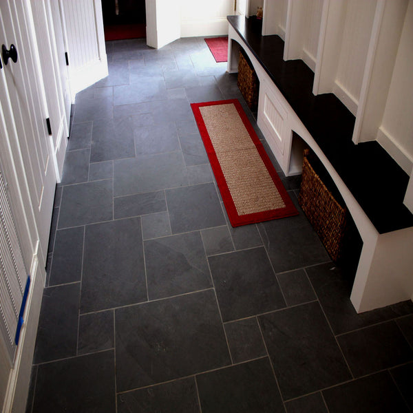 Mudroom Designs Black Slate Pattern