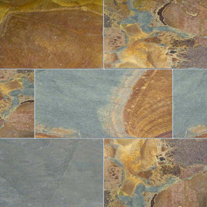 subway floor tiles california gold 12x24 gauged
