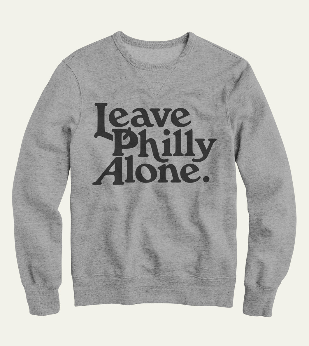 Signature Crewneck in Gray