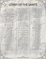 Litany of the Saints