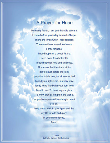 A Prayer for Hope (PDF)