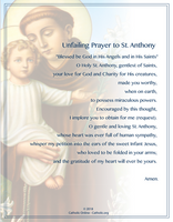 Unfailing Prayer to St. Anthony