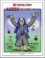 St. Therese Lisieux - Saints Fun Facts
