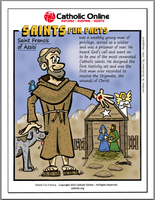 St. Francis of Assisi - Saints Fun Facts