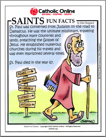 St. Paul - Saints Fun Facts