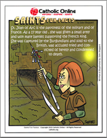 St. Joan of Arc - Saints Fun Facts