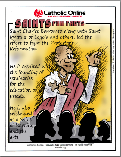 St. Charles Borromeo - Saints Fun Facts