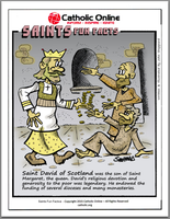 St. David of Scotland - Saints Fun Facts