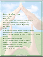 Blessing of a New House
