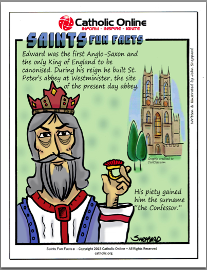 St. Edward the Confessor - Saints Fun Facts