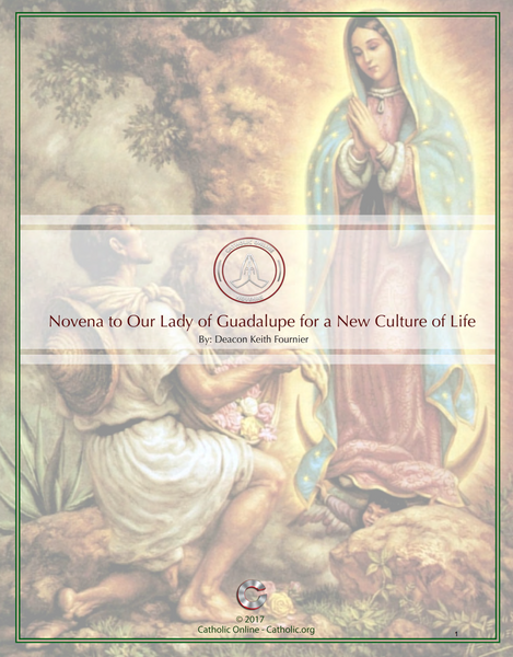 Novena to Our Lady of Guadalupe for a New Culture fo Life by Deacon Keith Fournier
