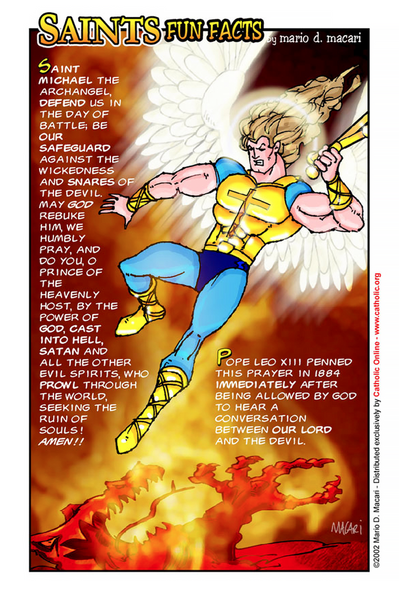 St. Michael the Archangel - Saints Fun Facts