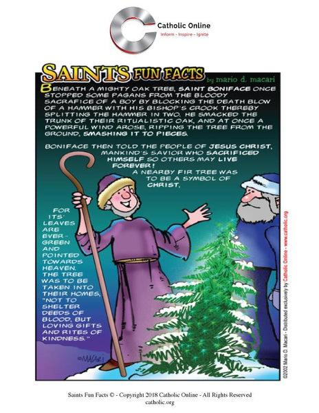 St. Boniface - Saints Fun Facts