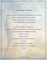 God Alone Suffices