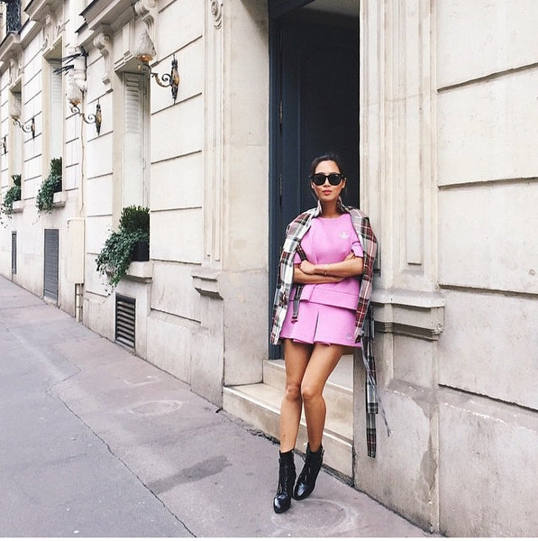 paris fashion week song of style looks