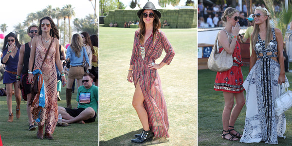 coachella boho dress