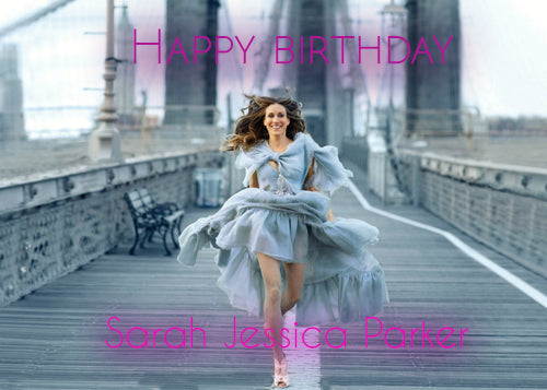 Sarah Jessica Parker happy birthday
