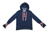 SUDADERA DENIM HEY GIRL VICHY