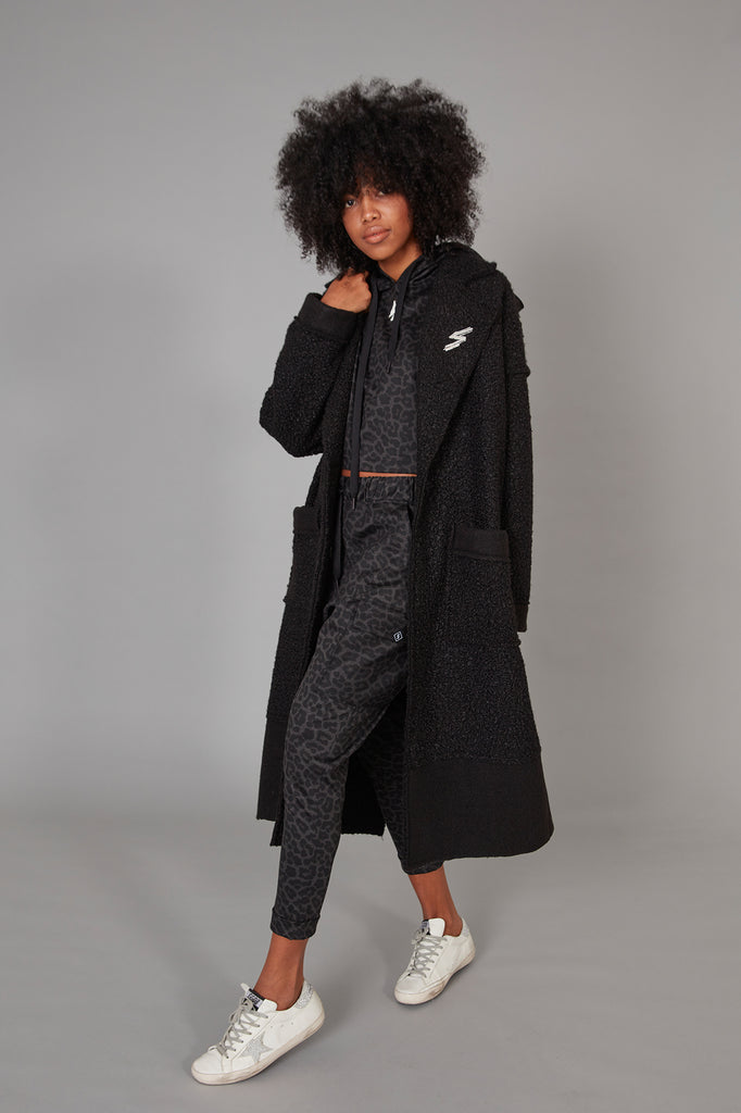 Abrigo Maxi Oversized Dolly Negro