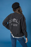 Bomber gris & plata GIRLS PWR