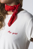 CAMISETA BLANCA HEY GIRL!