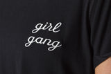 CAMISETA NEGRA GIRL GANG