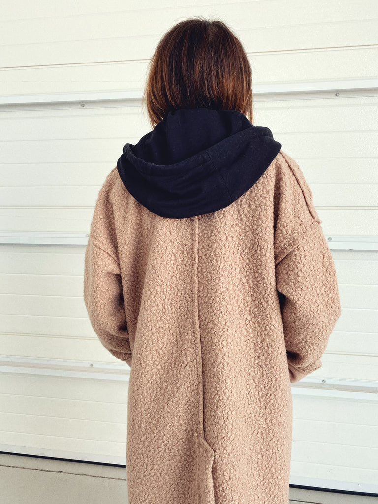 Abrigo Maxi Oversized Dolly Camel