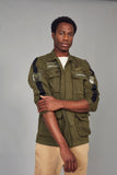 Parka parches khaki MKDS ARMY
