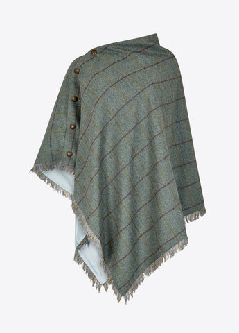Dubarry Tweedponcho Hazelwood