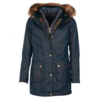 Barbour Damen-Wachsjacke Dartford