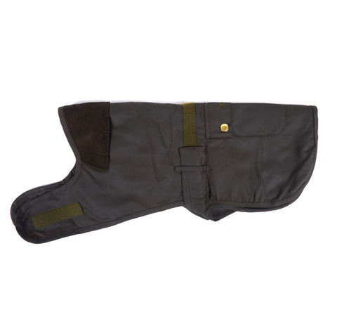 Barbour 2 in 1 Hundemantel aus Wachs