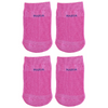 Mabua PINK Anti-slip Breathable Half Socks, 4 Pairs
