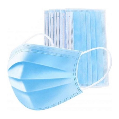 50 Piece Medical Filter Protective Disposable Face Mask